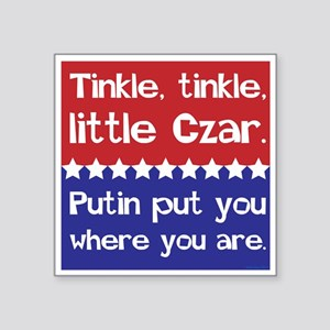 Tinkle Tinkle, Little Czar Sticker