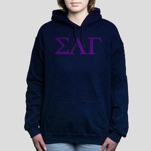 Sigma Lambda Gamma Greek Women's Hooded Sweatshirt