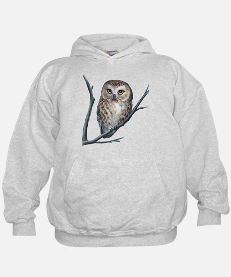saw-whet owl dark shirt Sweatshirt