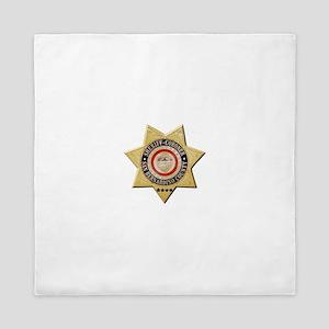 San Bernardino Sheriff-Coroner Queen Duvet