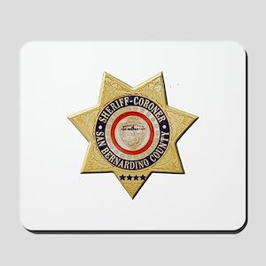 San Bernardino Sheriff-Coroner Mousepad