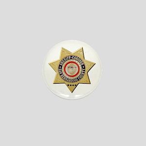 San Bernardino Sheriff-Coroner Mini Button