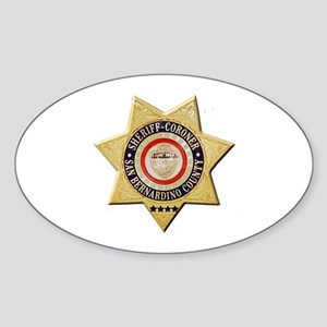 San Bernardino Sheriff-Coroner Sticker
