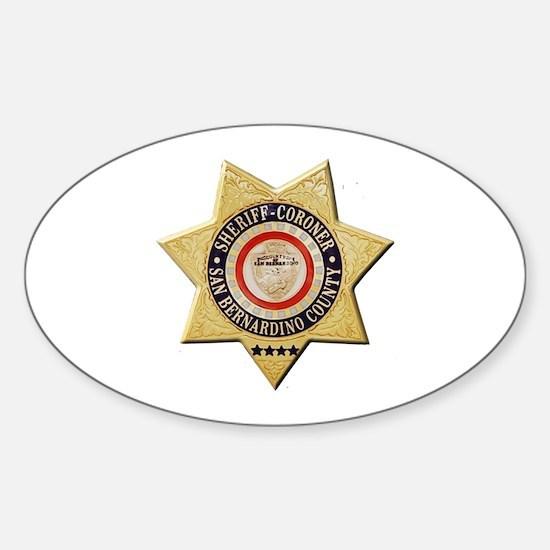 San Bernardino Sheriff-Coroner Decal