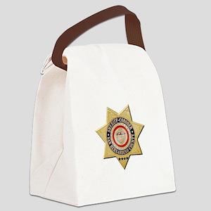 San Bernardino Sheriff-Coroner Canvas Lunch Bag