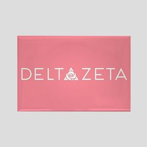 Delta Zeta Rectangle Magnet