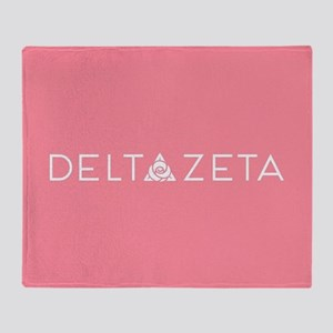Delta Zeta Throw Blanket
