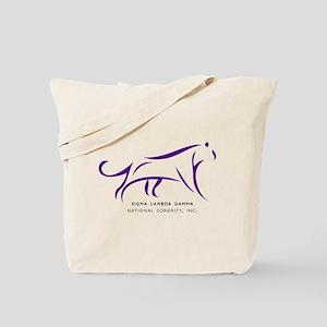 Sigma Lambda Gamma Logo Tote Bag