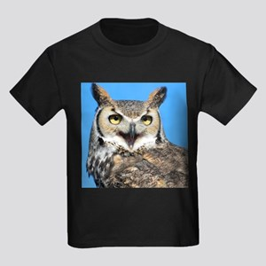 Happy Great Horned Owl T-Shirt