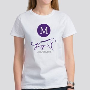 Sigma Lambda Gamma Logo Monogram Women's T-Shirt
