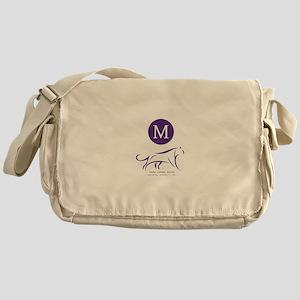Sigma Lambda Gamma Logo Monogram Messenger Bag