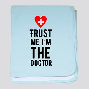 Doctor baby blanket