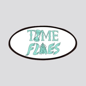 Time Flies Drawing Patch