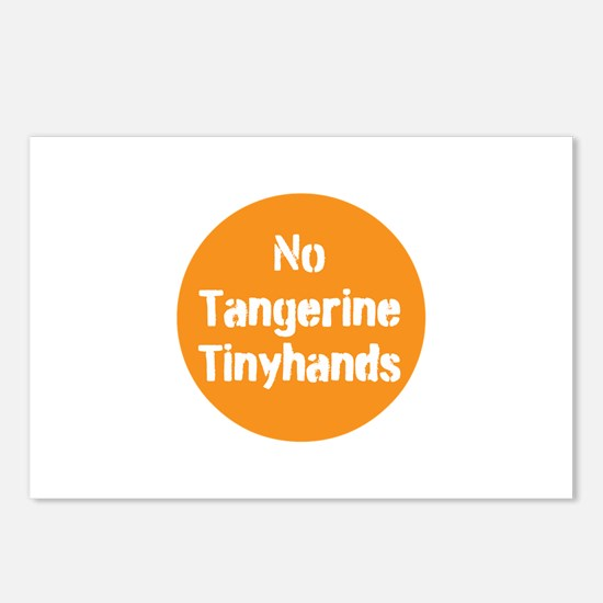no tangerine tinyhands Postcards (Package of 8)