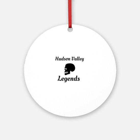 Cute Hudson valley Round Ornament