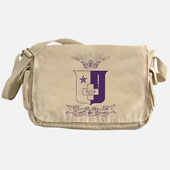 Sigma Phi Epsilon Crest Messenger Bag