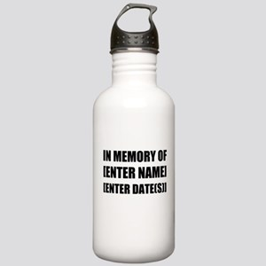 In Memory Of Personalize It! Water Bottle