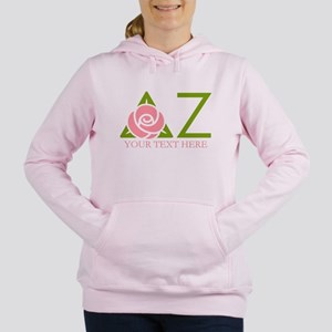 Delta Zeta Personalized Women's Hooded Sweatshirt