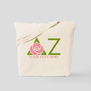 Delta Zeta Personalized Tote Bag