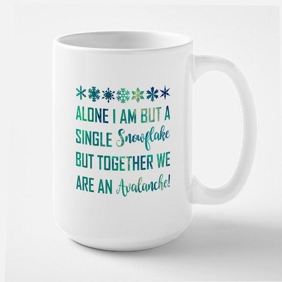 ALONE I AM... Mugs