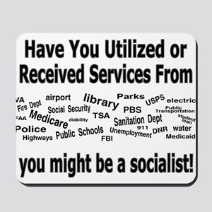 might be a socialist Mousepad