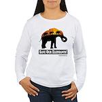 Save Our Elephants Women's Long Sleeve T-Shirt