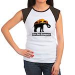 Save Our Elephants Junior's Cap Sleeve T-Shirt