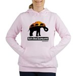 Save Our Elephants Women's Hooded Sweatshirt