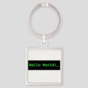 Hello World!_ Keychains