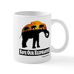 Save Our Elephants Mug