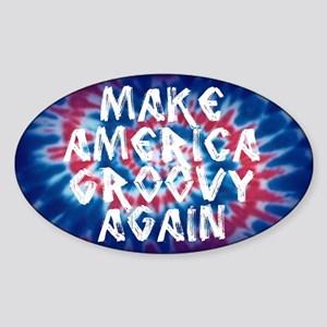 Make America Groovy Again Sticker