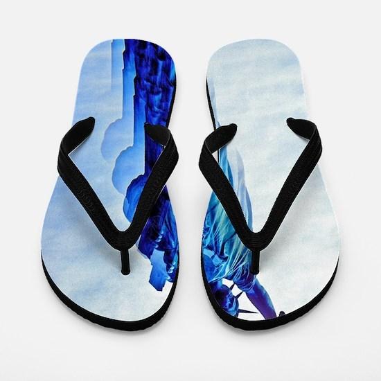 Unique New york Flip Flops