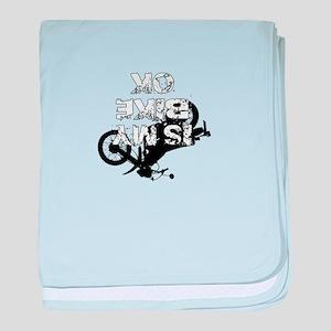 Is My Bike OK Motocross T-shirt baby blanket