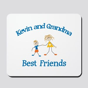 Kevin & Grandma - Best Friend Mousepad