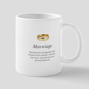 Mawwiage Mugs