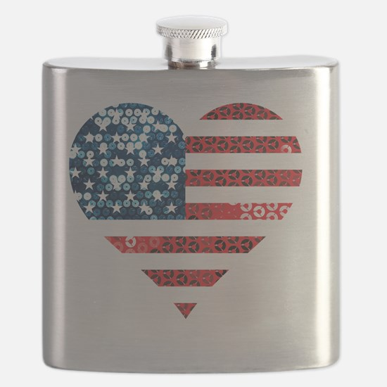 Unique Independence day Flask