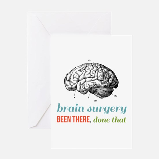 Brain Surgery Greeting Cards
