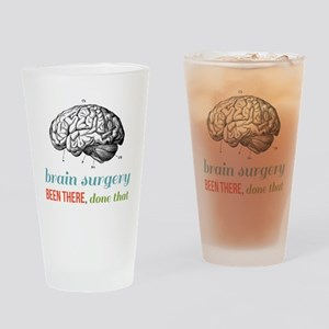 Brain Surgery Drinking Glass