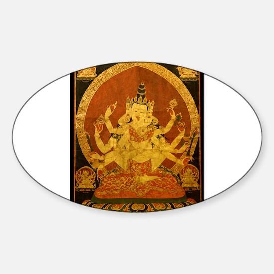 Akshobhya Wisdom Buddha Decal