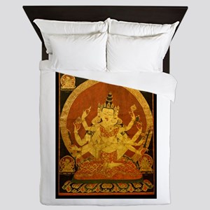 Akshobhya Wisdom Buddha Queen Duvet