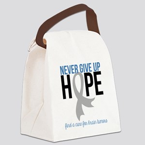 Never Give Up Hope Canvas Lunch Bag