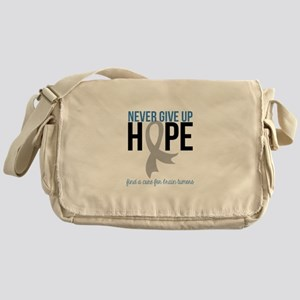 Never Give Up Hope Messenger Bag