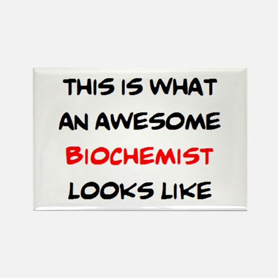 awesome biochemist Rectangle Magnet