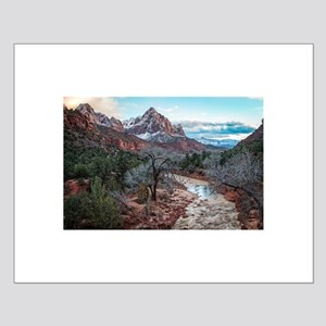 The Virgin River in Zion Posters