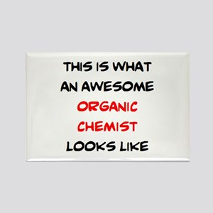 awesome organic chemist Rectangle Magnet