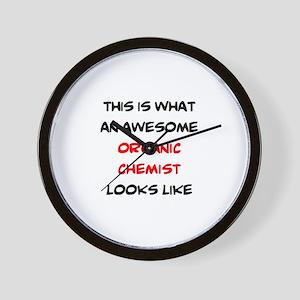 awesome organic chemist Wall Clock