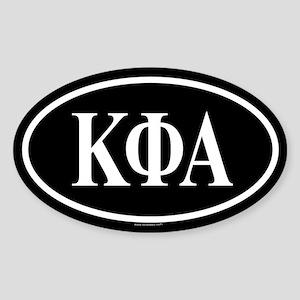 KAPPA PHI ALPHA Oval Sticker