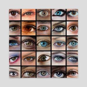 Eyes Mosaic Queen Duvet