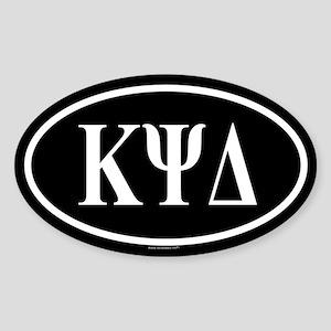 KAPPA PSI DELTA Oval Sticker