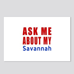 Ask Me About My Savannah Postcards (Package of 8)